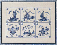 Dutch Blue Tiles Kit