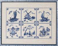 Dutch Blue Tiles Kit