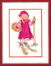 Girl Skiing Kit