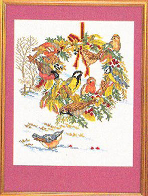 Birds & Fall Wreath Kit