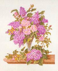 Lilacs in a Vase Kit