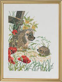 Hedgehogs & Poppies Kit