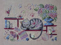 A Knitting Cat