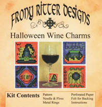 Halloween Wine Charms Kits