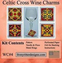 Celtic Cross Wine Charm Kits