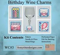 Birthday Wine Charms Kit