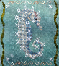 Year of the Seahorses #1 - January Snowflake