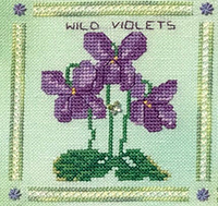 Heart Like a Wildflower #6 - Violets
