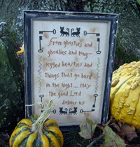 A Halloween Prayer Sampler