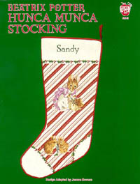 Beatrix Potter Hunca Munca Stocking