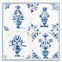 Antique Tiles - Flower Vases  Kit