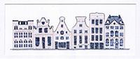 Delft Blue Houses Kit