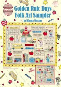 Golden Rule Days Folk Art Sampler
