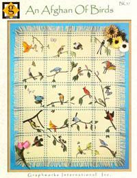 An Afghan of Birds