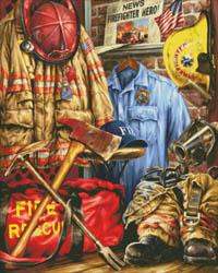 Hometown Hero Firefighter