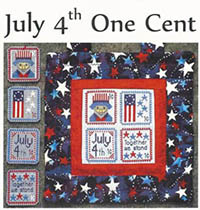 Holiday Stamps - July 4th One Cent