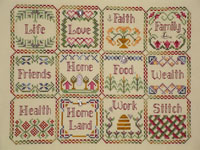 Blessings Sampler Quilt