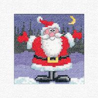 Santa Christmas Cards Kit
