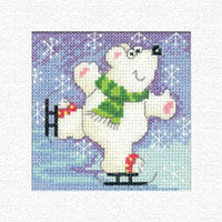 Polar Bear Christmas Cards Kit