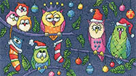 Birds of a Feather - Christmas Owls
