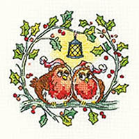 Birds of a Feather - Christmas Robins