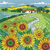 Sunflower Landscape Kit