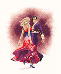 Dancers - Paso Doble