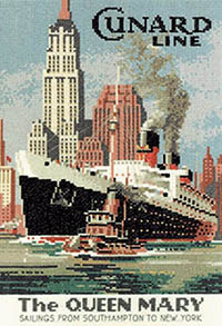 Queen Mary by John Clayton Kit