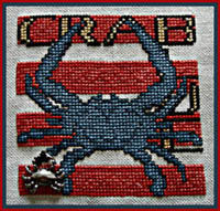 Word Play - Blue Crab