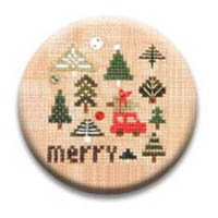 Christmas Square Dance Merry Needle Nanny by Heart In Hand