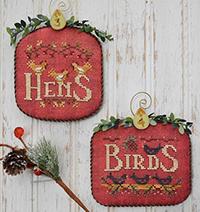 12 Days #2 - Hens & Birds