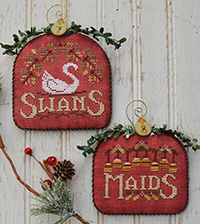 12 Days #4 - Swans & Maids