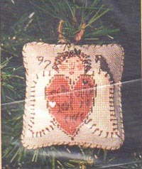 1997 Angel Ornament - Holly Hair Angel
