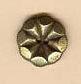 Olde Brass Coneflower Homespun Elegance Button