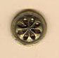 HSEOB27 - Old Brass Pinwheel Homespun Elegance Button