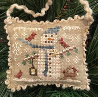 2017 Snowman Ornament - Snowy Friends