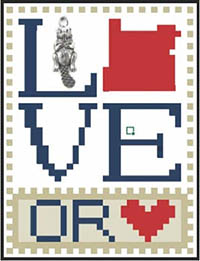 Love Bits States - Love Oregon