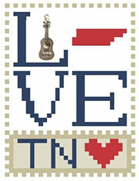 Love Bits States - Love Tennessee