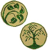 Circle Ornaments - Elegant Summer