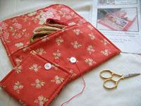 Traveling Stitcher Project Keeper & Needlebook