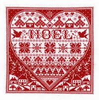 Redwork Noel