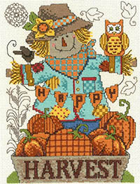 Happy Harvest Scarecrow