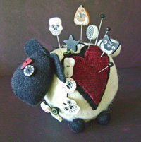 Ewe Look Fabulous: Halloween Pincushion Kit