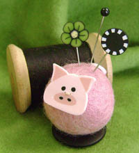 Polly Pig Button Buddy Kit
