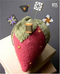 Strawberry Pincushion Kit
