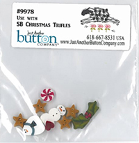 Christmas Trifles Button Pack
