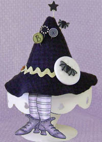 Boo Moon Pincushion Kit