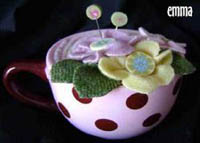 Emma's Pink Pincushion