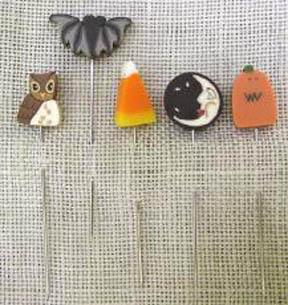 Just Pins - Halloween  Stick Pins