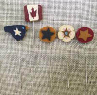 Just Pins - Canada Patriotic Stick Pins